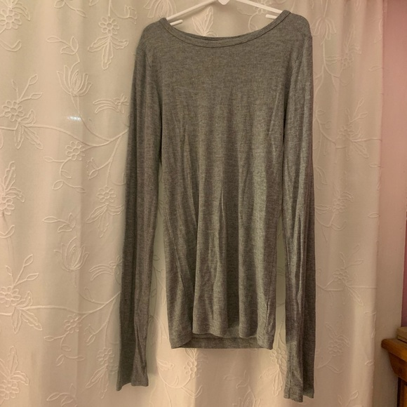 Brandy Melville Tops - Ribbed Long Sleeve